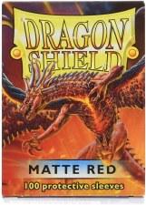 Dragon Shield Sleeve Red Matte 100pc