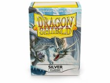Dragon Shield Sleeve Silver Classic 100pc