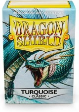 Dragon Shield Sleeve Turquoise Classic 100 Pack
