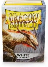 Dragon Shield Sleeves White Classic 100pc