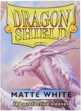 Dragon Shield Sleeve White Matte 100pc