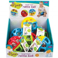 Early Years Rattle Maze Ball