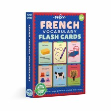 Eeboo French Vocabulary Flash Cards