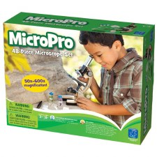 Geosafri Micropro Microscope With Carrying Case Set 48 Pcs