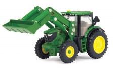 Ertl John Deere 6210r Tractor With Loader 1/64