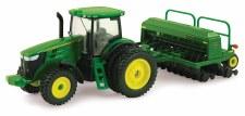 Ertl John Deere 7215r Tractor Grain Drill 1/64