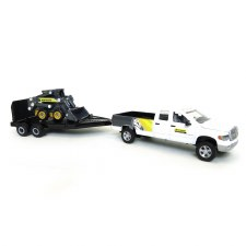 Ertl New Holland Pick-up With Skid Steer And Trailer 1:64 Scale