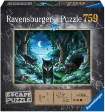 Ravensburger Puzzle 759 The Curse Of The Wolves