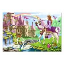 Melissa & Doug Fairy Tale Castle 48pc