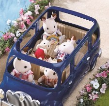 Calico Critters Seven Seater Family Van