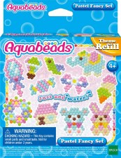Aquabeads Fancy Pastel Refill Set