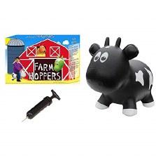 Farm Hoppers Black Cow