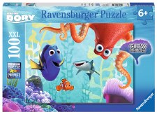Ravensburger 100 Xxl Pieces Finding Dory Glow In The Dark