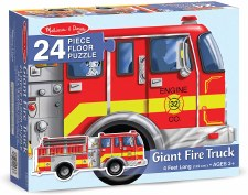 Melissa & Doug Floor Puzzle Fire Truck 24pc