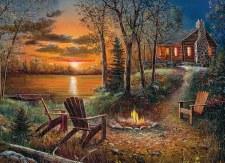 Cobble Hill 500pc Fireside