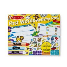 Melissa & Doug First Word Activity Pad