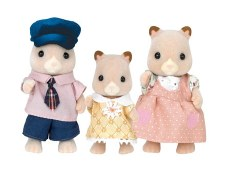 Calico Critters Fluffy Hamster Family
