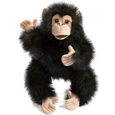 Folkmanis Baby Chimp Puppet