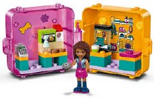 Lego Friends Andreas Shopping Play Cube Series 2