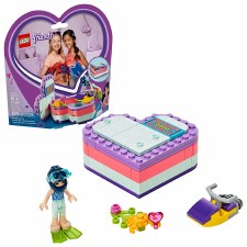 Lego Friends Emma's Summer Heart Box 41385