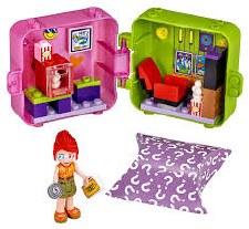 Lego Friends Mias Shopping Play Cube Series 2
