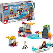 Lego Disney Anna's Canoe Expedition Frozen 2