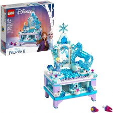 Lego Disney Elsa's Jewelry Box Creation Frozen 2