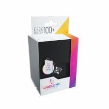 Deck Box Black Holds 100 Cards