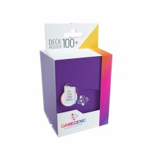 Deck Box Purple Holds 100 Cards
