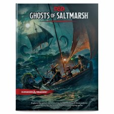 D&d Ghosts Of Saltmarsh Book