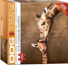 Eurographics 500pcs Giraffe Mothers Kiss
