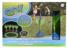 Go Zone Lawn Darts Set Glow In The Dark