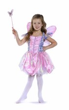 Great Pretenders Cotton Candy Fairy Dress With Wings And Wand