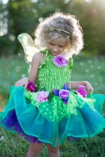 Great Pretenders Fairy Blooms Deluxe Green Dress With Wings
