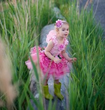 Great Pretenders Fairy Blooms Deluxe Dress Pink