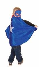 Great Pretenders Reversable Superhero Metal Man Cape 55575