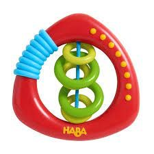 Haba Clutching Toy Rattle Rings
