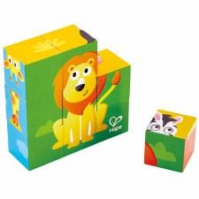 Hape Block Puzzle Jungle Animal