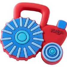 Haba Silicon Teether Tractor