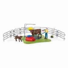 Schleich Farm World Happy Cow Wash Station