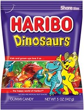 Haribo Dinosaurs Bag