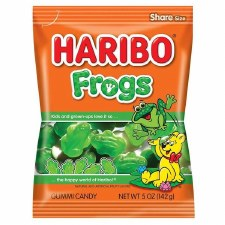 Haribo Frogs Bagged