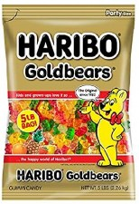 Haribo Gold Bears Bagged