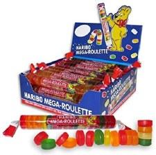 Haribo Mega Roulette Gummi Candy Roll