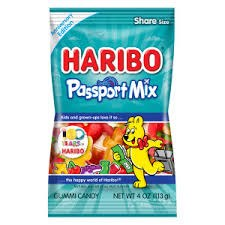 Haribo Passport Mix Peg Bag