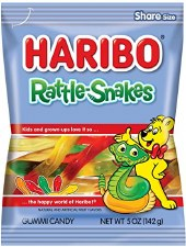 Haribo Rattle Snake Peg Bag
