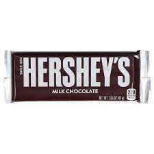 Hersheys Milk Chocolate Regular