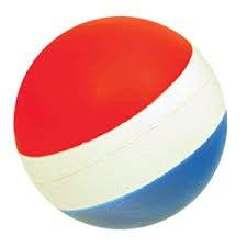 Hi Bounce Balls Red White Blue