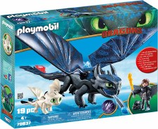 Playmobil Dragons Hiccup And Toothless 70037