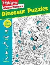 Highlights Hidden Pictures Dinosaur Puzzler